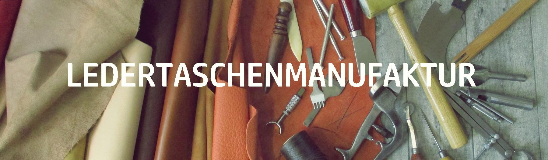 Banner von LEDERTASCHENMANUFAKTUR